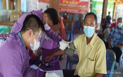 Komitmen TIM Aku Sehat Gayam Bantu Vaksinasi Untuk Masyarakat