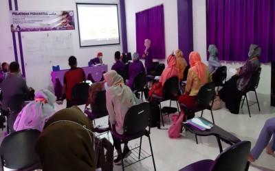 Hari Keempat, CWCCA Pelatihan Perawatan Luka Di STIKes Insan Cendekia Husada Bojonegoro