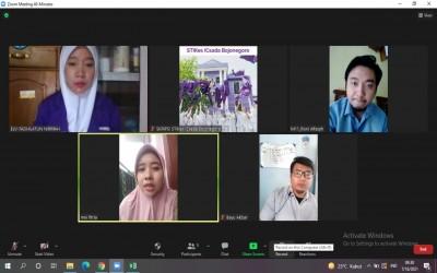 Masa PPKM Darurat, Mahasiswa Kampus Ungu Sidang Skripsi Secara Online