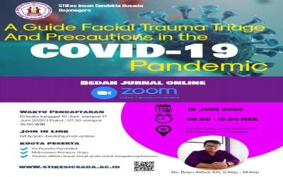 Kampus Ungu, Adakan Bedah Jurnal Secara Daring Sebagai Pencegahan Covid-19