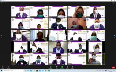 Yudisium Daring Program Alih Jenjang Prodi Ilmu Keperawatan Kampus Ungu