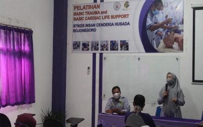 Penutupan Pelatihan BTCLS Gelombang 1 Di STIKes Insan Cendekia Husada Bojonegoro