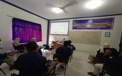 STIKes Insan Cendekia Husada Gelar Seminar hasil Penelitian Dosen Internal