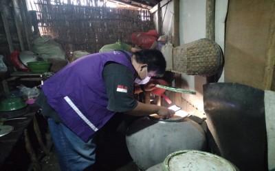 TIM Akus Sehat. Lakukan Kunjungan Keluarga Binaan Untuk Lakukan Pencegahan Jentik Nyamuk DBD