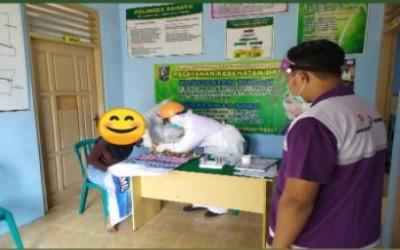 Rapid Test, Sahabat Pertamina Dan Bidan Desa Cegah Penularan Covid-19
