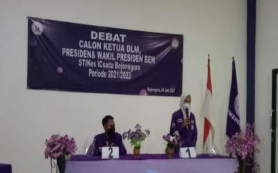 Debat Terbuka Calon Ketua dan Wakil Ketua BEM Pemira Kampus Ungu 2021