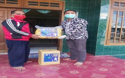 TIM Garuda ICsada Salurkan Donasi Untuk Penanganan Covid-19 Di Desa Sumberagung