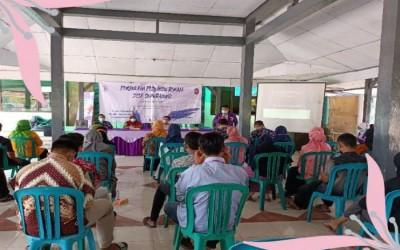 Membanggakan , Mahasiswa NERS 7 Kampus Ungu Bojonegoro Launching Posyandu Remaja di Desa Sumuragung Sumberrejo