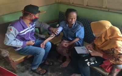 TIM Sahabat Pertamina, Tetap Selalu Berikan Layanan Kesehatan Walaupun Di Masa Pandemic Covid-19 Dengan Tetap Menggunakan Protokol Kesehatan