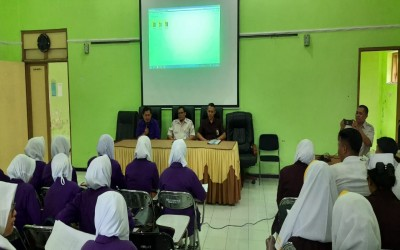 Pembukaan Praktek Keperawatan Jiwa di RSJ. Dr. Radjiman Wediodining Malang