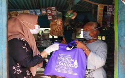 Kita Bisa! TIM Garuda ICsada Berbagi Sembako Untuk Masyarakat Yang Terdampak Adanya Wabah Covid-19
