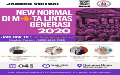 Kampus Ungu, Ajak Mahasiswa Dan Netizen Jagong Virtual Dengan Tema