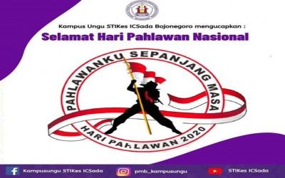 Kampus Ungu, Selamat Hari Pahlawan 2020! Kobarkan Semangat Pancasila Untuk Negara Republik Indonesia