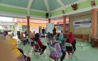 Kampus Ungu, Adakan Sosialisasi Adaptasi Baru Di Desa Binaan