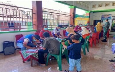 Partisipasi Tim Sahabat Pertamina Dalam Vaksinasi Covid-19 Desa Sambiroto