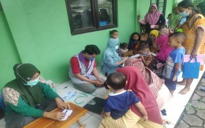 Tim Aku Sehat, Lakukan Cek Kesehatan Dan Monitoring Di Posyandu Balita