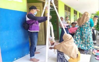 Kegiatan Posyandu Balita Oleh Tim Sahabat Pertamina