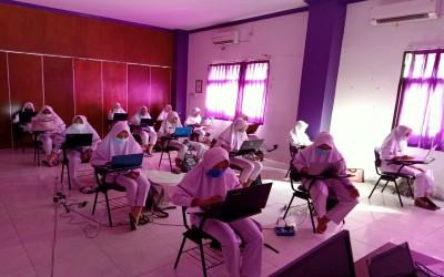 Kampus Ungu, Semester 6 Prodi D3 Kebidanan melaksanakan Ujian Komprehensif 2019/2020 Via CBT