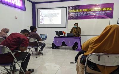 Kampus Ungu, Gelar Seminar hasil Penelitian Dosen Internal