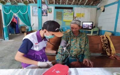 Layanan Kesehatan, TIM Sahabat Pertamina Lakukan Cek Kesehatan Di Rumah Warga Binaan