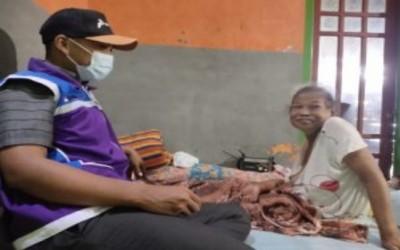 Komitmen Sahabat Pertamina, Merawat Warga BInaan Mbah Mariati Perempuan Tangguh Melawan Stroke