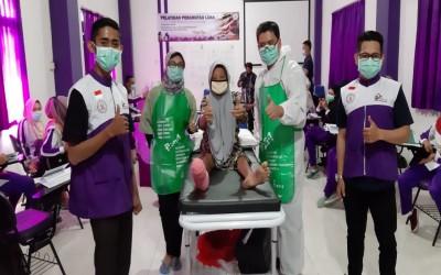 Hari Ketiga, CWCCA  Pelatihan Perawatan Luka Di STIKes Insan Cendekia Husada Bojonegoro