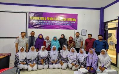 STIKes Insan Cendekia Husada Gelar Seminar hasil Penelitian Dosen