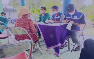Sahabat Pertamina Bantu Pelaksanaan Vaksin Lansia Di Desa Ngampel