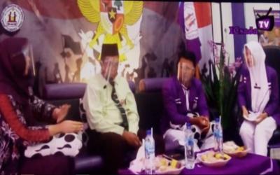 Acara Jagongan Kebangsaan Nasionalis Muda , yang di Gelar Oleh ICsada TV Di Kampus Ungu