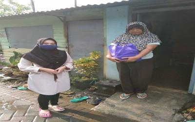 Pandemic Covid-19, Garuda ICsada Beri bantuan Sembako Bagi Warga Terdampak