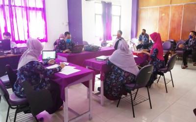 Kampus Ungu, Lakukan Rapat Koordinasi Dengan Jajaran Dosen Prodi Ilmu Keperawatan Sebagai Peningkatan Mutu Pendidikan Ners di Saat pandemic
