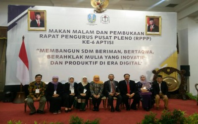 Pimpinan STIKes ICsada Bojonegor Menghadiri Rapat Pengurus Pusat Pleno Ke-6 APTISI