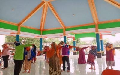 Sahabat Pertamina Adakan Senam Hipertensi Bagi Lansia Di Desa Binaan