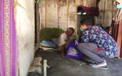 Tahap Ke 7, Garuda ICsada Peduli Covid-19 Bagikan Paket Sembako Untuk Masyarakat Terdampak
