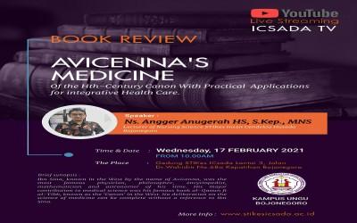 Yuuk.., Ikuti LIve Streaming Bedah Buku Avvicena's Medicine